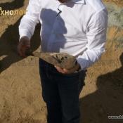 """Разрушение неразорвавшейся минометной мины при помощи изделия \""""Разрушитель Р-40\"""""""