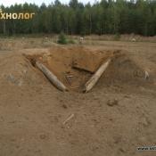 Штатный подрыв противотанковой мины ТМ-62М