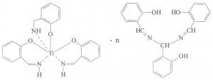 Комплекс гидросалицилальимин-титана (IV) c гидросалицилальимином