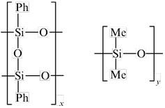 фенилсилсесквиоксан и поли(диметилсилоксан)