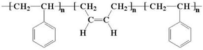 Химическая структура термоэластопласта ДСТ