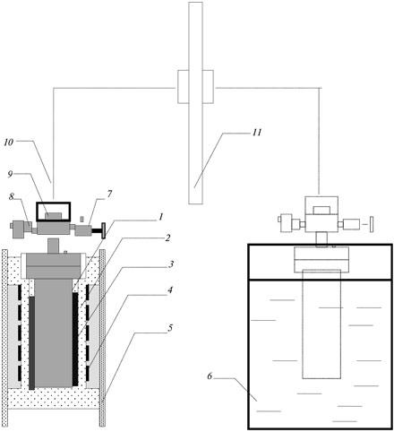 Принципиальная схема автоклавной установки