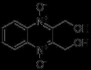 Гидроксиметилхиноксалиндиоксид (Hydroxymethylquinoxalindioxyde, Диоксидин®) CAS: 17311-31-8
